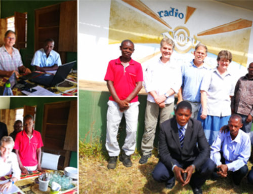 Christian radio station in Mozambique