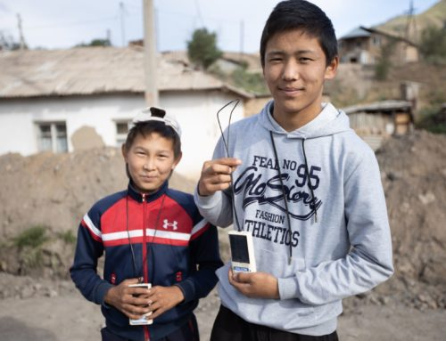 NEW RADIO STATION IN KYRGYZSTAN REACHES 10 MILLION SOULS