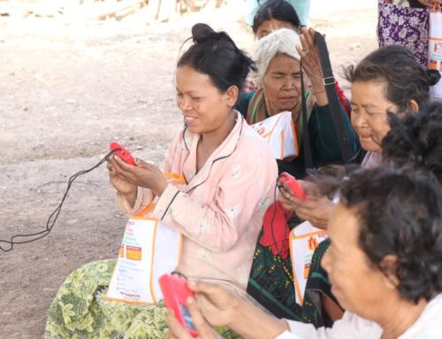A VOICE OF ENCOURAGEMENT FOR LISTENERS IN CAMBODIA